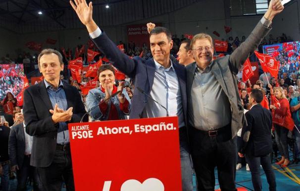 Sánchez, en un acto del PSOE en Elda, Alicante