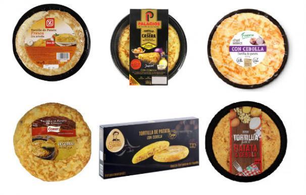 Tortillas de supermercado