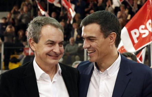Zapatero negó la crisis en la campaña electoral de 2008. Once años después la historia puede repetirse con Sánchez. / EFE
