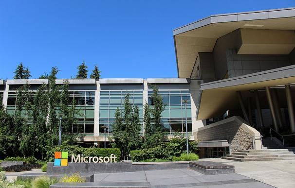 Fotografía de una de la sedes de Microsoft.