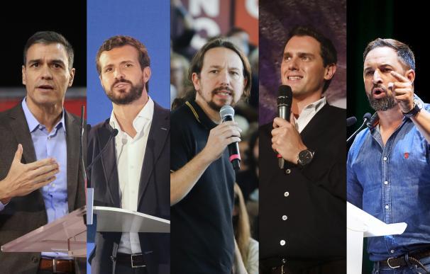 Candidatos debate 10-N