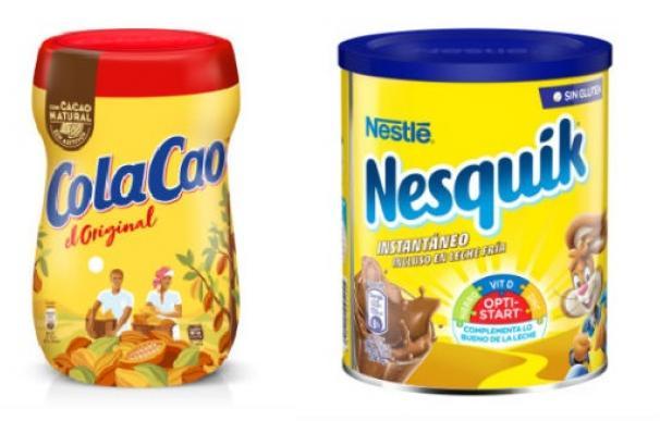 Cola Cao o Nequik, cuál es más saludable