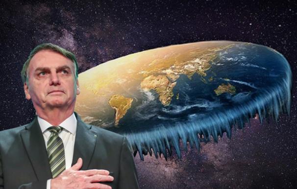 Bolsonaro multiplica a los terraplanistas: 11 millones celebran su cumbre en Brasil