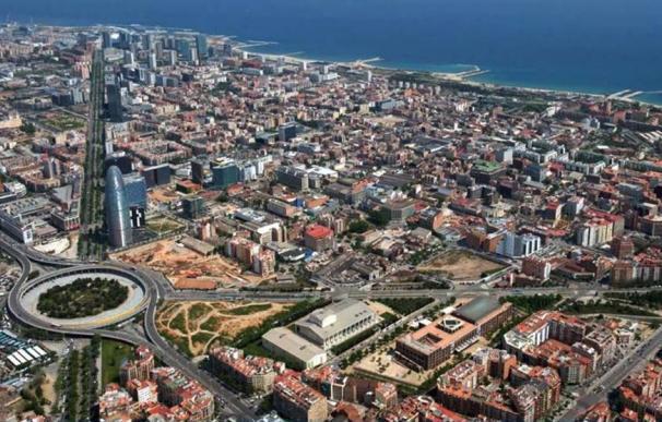 Vista del 22@, en Poblenou, Barcelona.