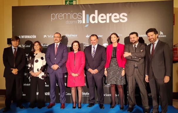 Garamendi, Del Pino, Alierta... Grandes empresarios arropan a La Información