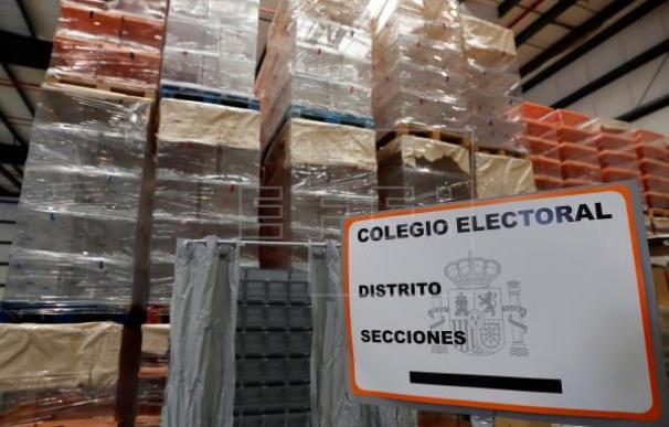 Fotografía urnas elecciones / EFE