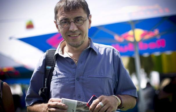 Juan Carlos Monedero, portavoz de Podemos