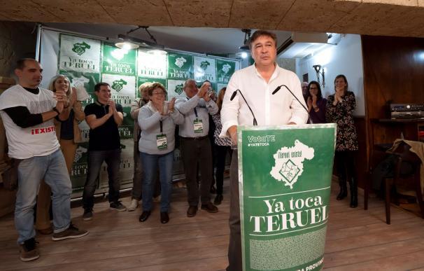 Tomás Guitarte, líder de Teruel Existe