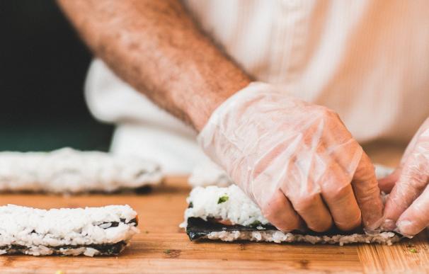 Fotografía de un cocinero.