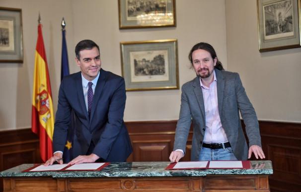 El acuerdo abre la puerta a evitar las terceras elecciones. /Podemos