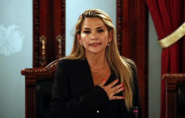 Jeanine Añez asume como presidenta de Bolivia. /L.I.
