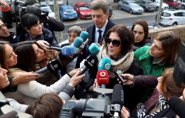 Valeria Quer llega al juzgado