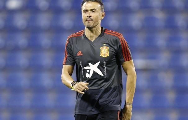 Luis Enrique Dirigiendo A La Selección