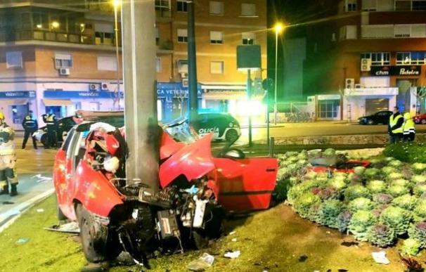 Accidente tráfico coche