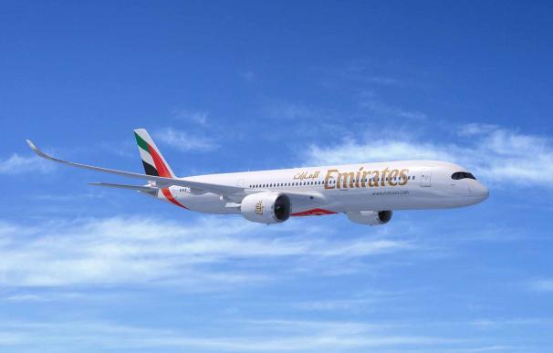 A350 es el nuevo avión preferido de la línea aérea de Emiratos Árabes.