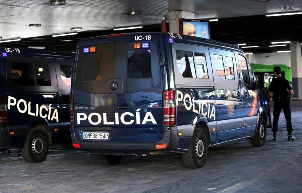 Policía Nacional furgoneta