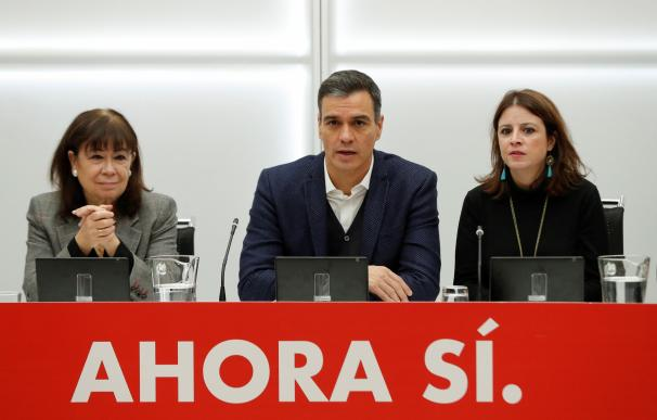 Fotografía Ejecutiva PSOE Sánchez.