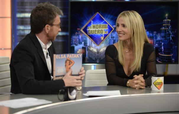 Elsa Pataky durante la entrevista. /El Hormiguero