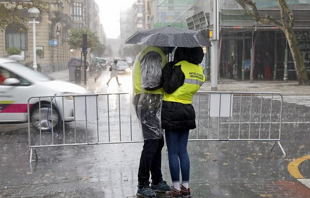 lluvias intensas. / EFE