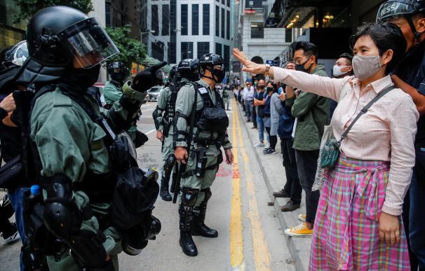 Disturbios en Hong Kong. / EFE