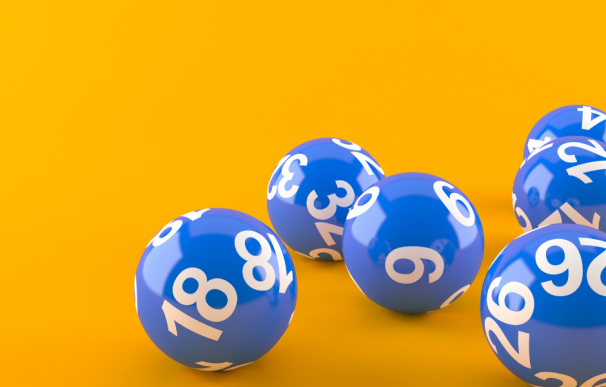 Fotografía de las bolas del sorteo de la Primitiva.
