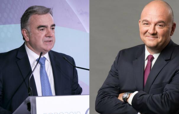 Hernani y Boujnah, primeros ejecutivos de BME y Euronext.