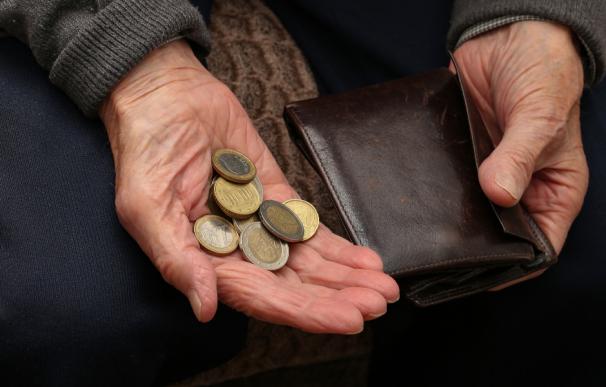 Fotografía de la paga que los pensionsitas reciben por Navidad.