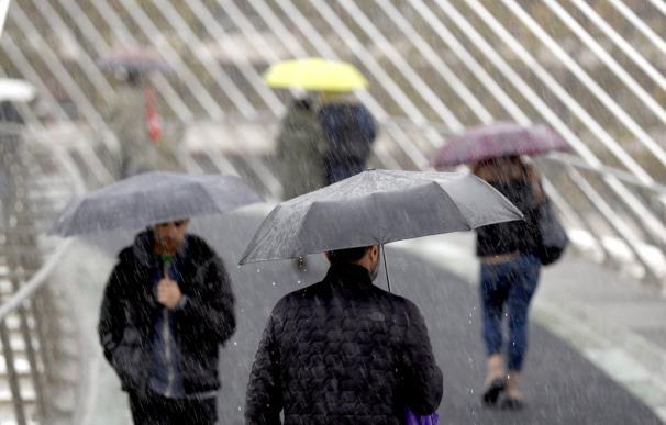 tiempo, lluvia. / EFE