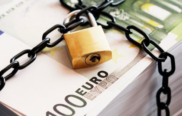 Fotografía de billetes de 100 euros.