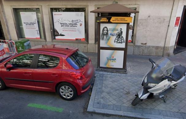 El quiosco está en la calle Hilarión Eslava de Madrid. /Google