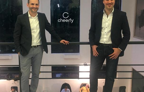 Los dos cofundadores de Cheerfy