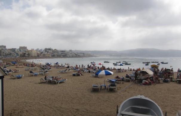 La playa de Las Canteras, en Las Palmas de Gran Canaria, ya dispone de un distintivo de calidad turística