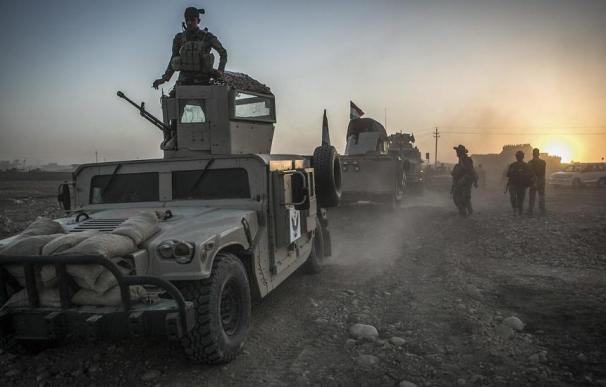 Las fuerzas kurdas anuncian el fin del 'califato' territorial del Estado Islámico en Siria (EFE)