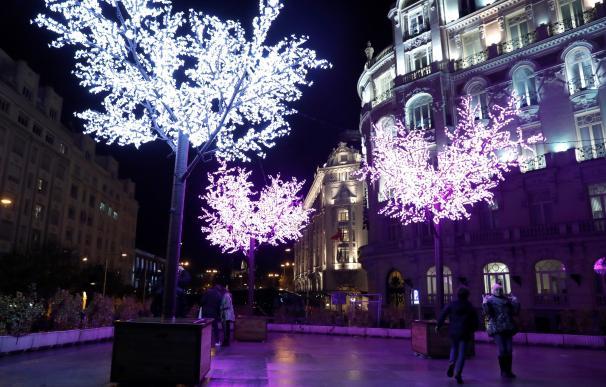 Encendido de las luces de Navidad de Madrid