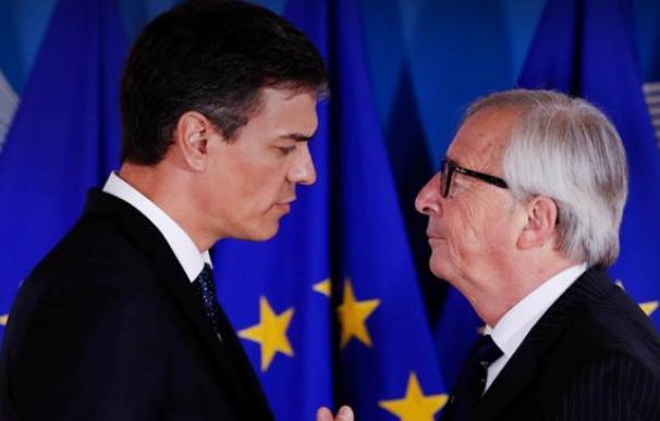 Sánchez y Juncker