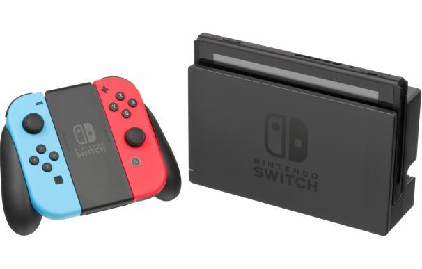 Fotografía de Nintendo Switch, la videoconsola exitosa de Nintendo.