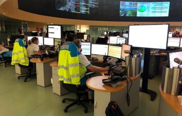 Imagen de recurso del centro de coordinación de Emergencias 112 Comunidad de Madrid.