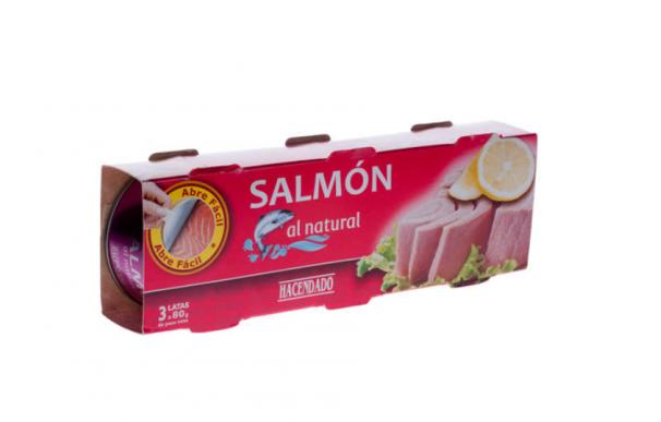 Salmón al natural, de Mercadona
