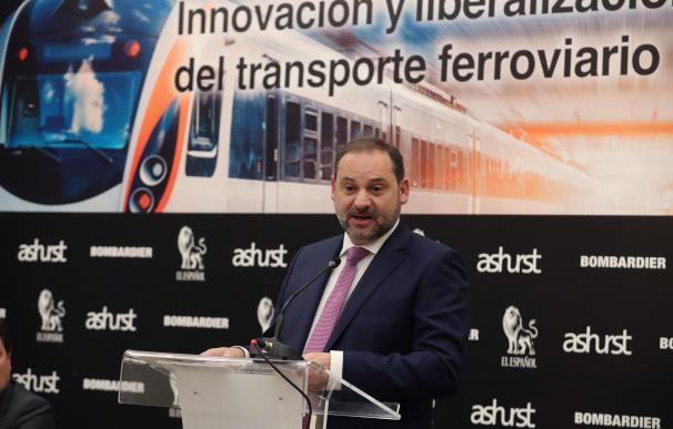 José Luis Ábalos, ministro de Fomento.