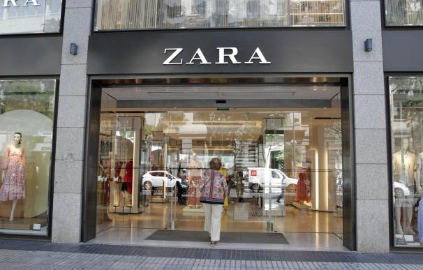 Tienda de la cadena Zara, buque insignia de Inditex.
