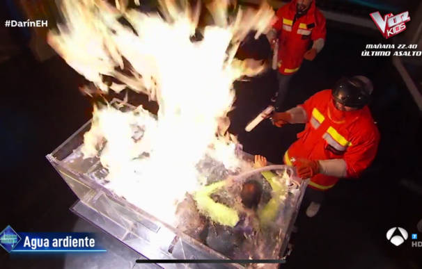 Grave accidente en 'El Hormiguero'. /L.I.