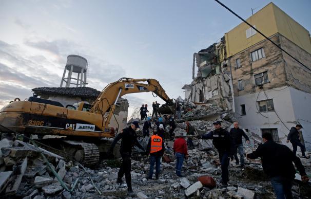 Terremoto en Albania. / EFE