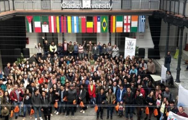 Estudiantes Erasmus en la Universidad de Cádiz. /UCA