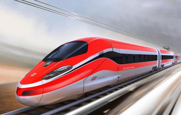 Trenitalia presenta en nuevo tren de alta velocidad fabricado por Bombardier