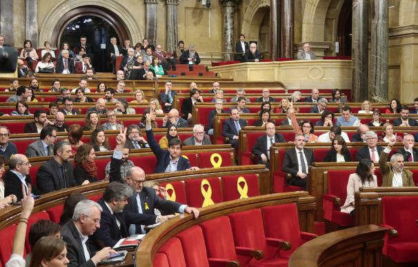 El Parlament de Catalunya vota cinco propuestas.