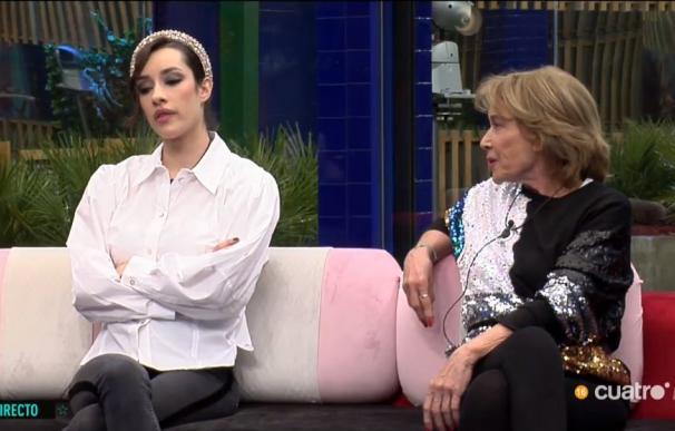 Mila se alía con Adara y carga contra Alba Carrillo.