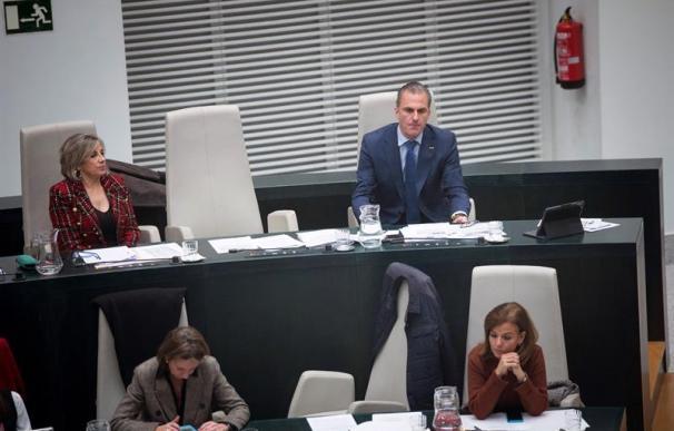 Ortega Smith, en el Ayuntamiento de Madrid, Vox