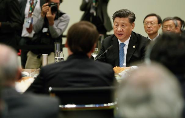 Xi Jinping ha hecho escala en Tenerife tras acudir a la XI Cumbre de los BRICS