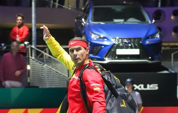 Rafa Nadal, sus logros en torneos como la Copa Davis, le hacen ser uno de los protagonistas geniales de un un libro