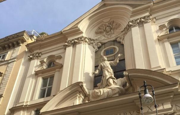 Iglesia de los Santísimos Estigmas de San Francisco en Roma